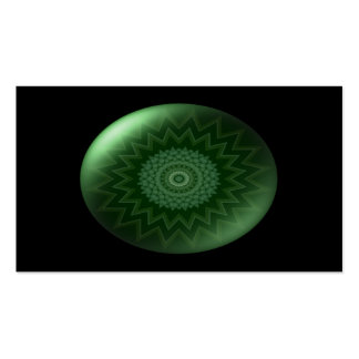 Green  Heart Chakra Business Card