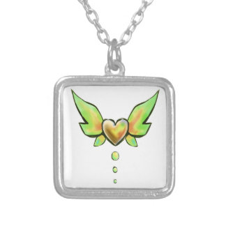 Green Heart Myriad Personalized Necklace