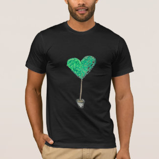 Green Heart Topiary T-Shirt