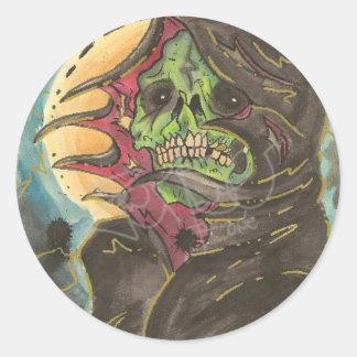 Green Hell Round Sticker