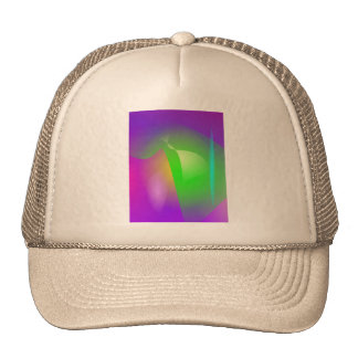 Green Helmet Cap