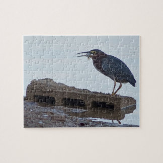 Green Heron Jigsaw Puzzle