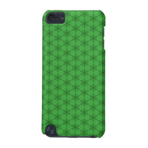 Green Hexagon iPod Touch (5th Generation) Case