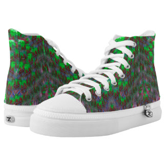 Green High Tops Trainers