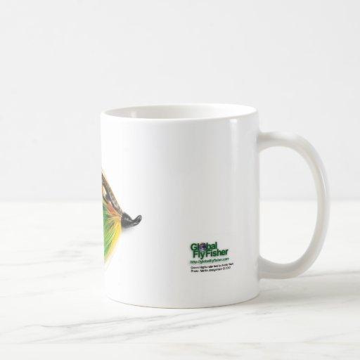 Green Highlander Salmon Fly Mug