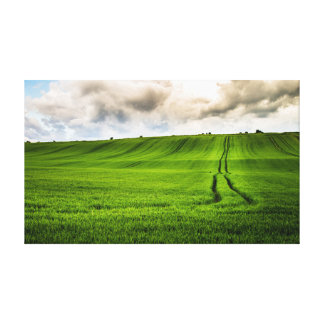 Green Hills Gallery Wrap Canvas