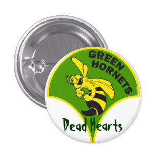 Green Hornets - Dead Hearts Novels 3 Cm Round Badge