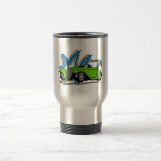 Green Hot Rod Coffee Mug