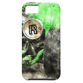 Green Hotrod Vintage Classic Car Painted Style iPhone 5 Cover