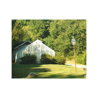 Green House Effect Oil Painting/Photo Canvas Print