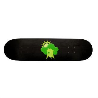 Green House 21.3 Cm Mini Skateboard Deck
