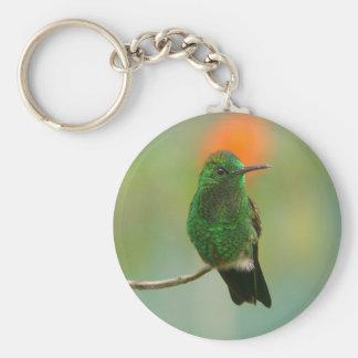 Green Hummingbird Keychains