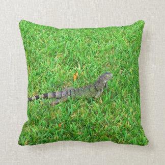 Green Iguana Cushion