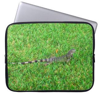 Green Iguana Laptop Sleeve