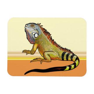 green iguana magnet