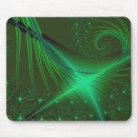 Green Interrumpted Mousepad
