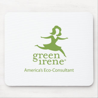 Green Irene Mouse Pad