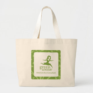Green Irene Tote Canvas Bag