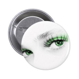 Green Irish 6 Cm Round Badge