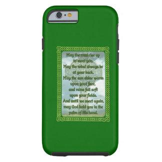 Green Irish Blessing Tough iPhone 6 Case