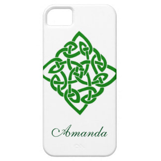 Green Irish Celtic Knot Symbol Case For The iPhone 5