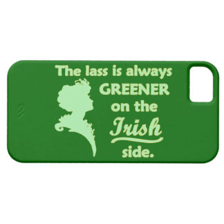 Green Irish Lass iPhone 5 Cover