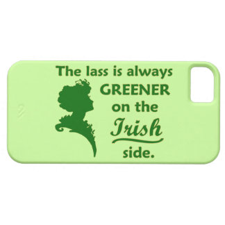 Green Irish Lass Case For The iPhone 5