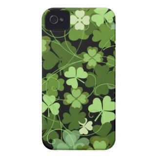 Green Irish Shamrock iPhone 4 Cases