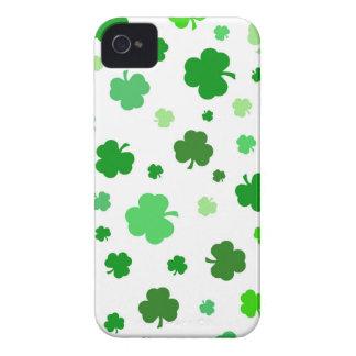 Green Irish Shamrocks iPhone 4 Covers