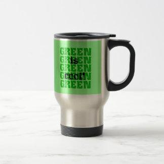 GREEN is cool Mug