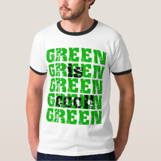 GREEN is cool T Shirts