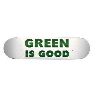 Green is Good Skate Board Decks