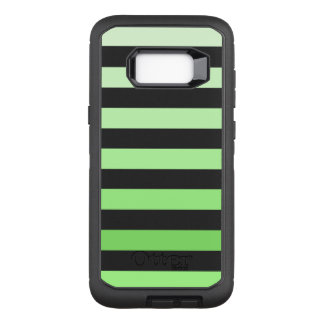 Green is in OtterBox defender samsung galaxy s8+ case