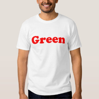 Green is subjective tshirts
