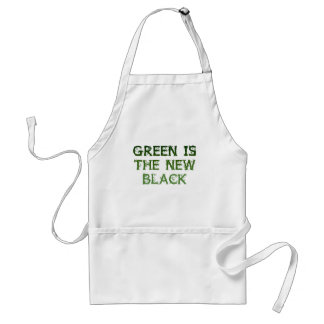 Green Is The New Black Apron