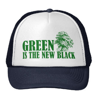 Green Is The New Black Cap