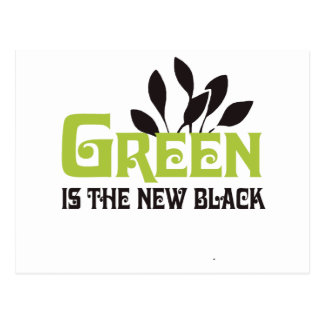 GREEN IS THE NEW BLACK - POST CARDS
