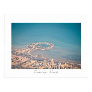 Green island, Kuwait Postcard