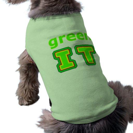 green IT The MUSEUM gibsphotoart Pet Tee