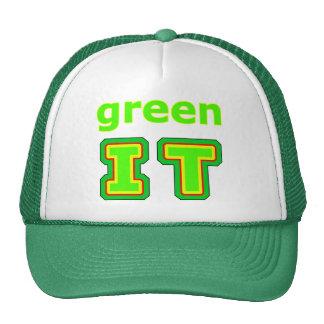 green IT The MUSEUM gibsphotoart Hat