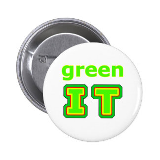 green IT The MUSEUM gibsphotoart Pins