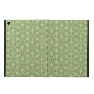 Green Ivy Leaf Geometric Design Case iPad Air Cover