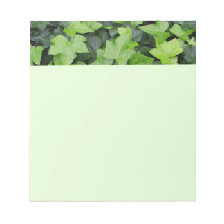 Green Ivy Notepad