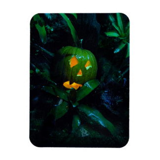 Green Jack O Lantern Magnets