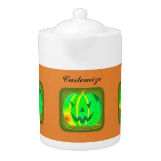Green Jack o'lantern Halloween Thunder_Cove