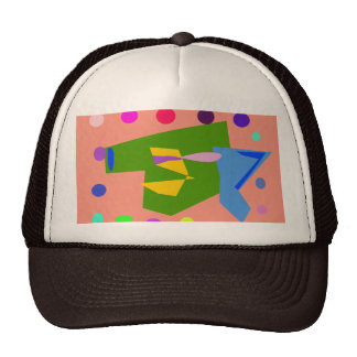 Green Jacket Salmon Pink Hat