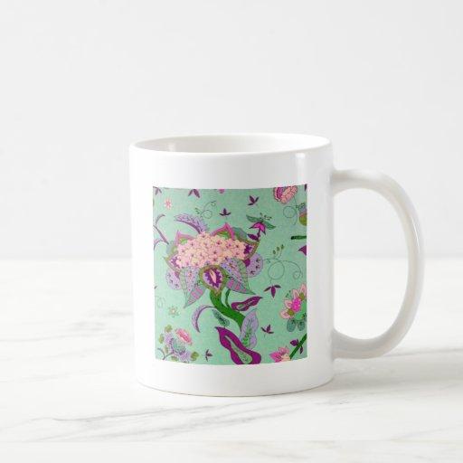 green jacobian mug