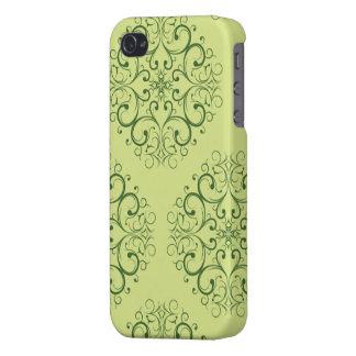 green java batik iphone 4 iPhone 4 case
