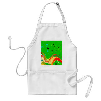 Green Jazz Background Standard Apron