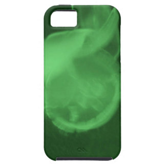 green jelly fish iPhone 5 cover